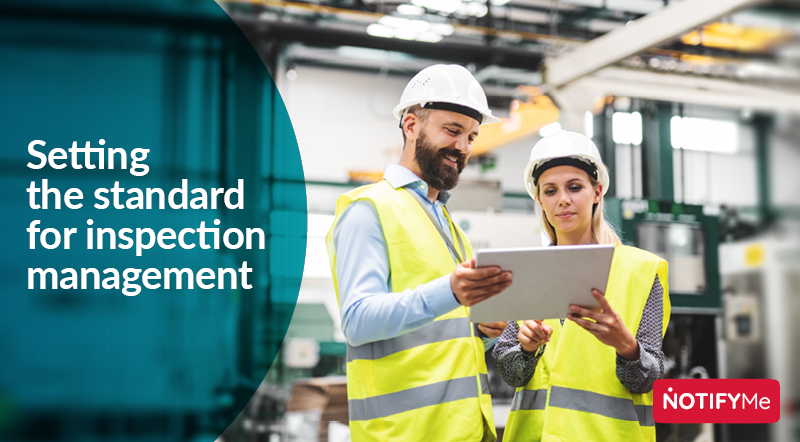 Setting the standard for inspection management